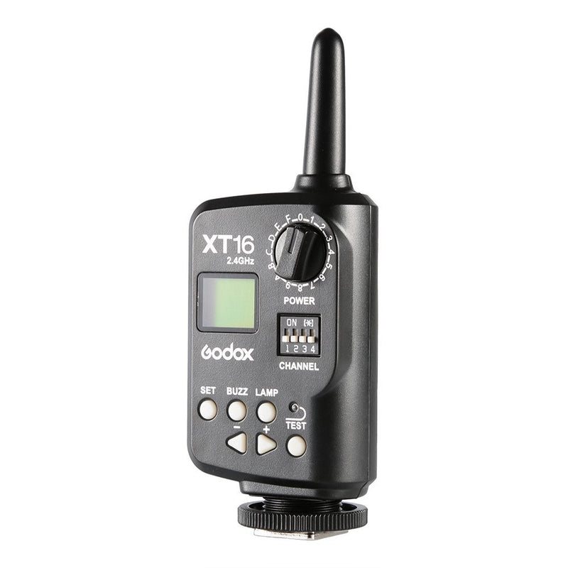 Godox XT-16 Wireless 2.4G Remote Control Flash Trigger + Receiver - FOMITO.SHOP