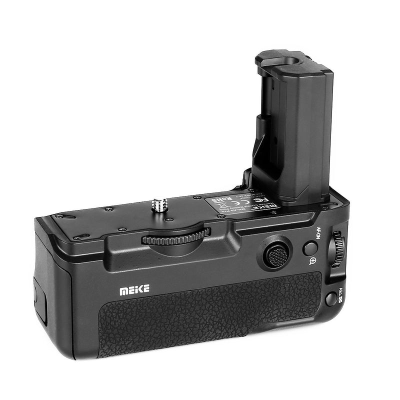 Meike MK A9 Pro Battery Grip Built-in 2.4GHz Remote Controller Up to 100M to Control shooting Vertical-shooting Function for Sony A9 A7RIII camera - FOMITO.SHOP