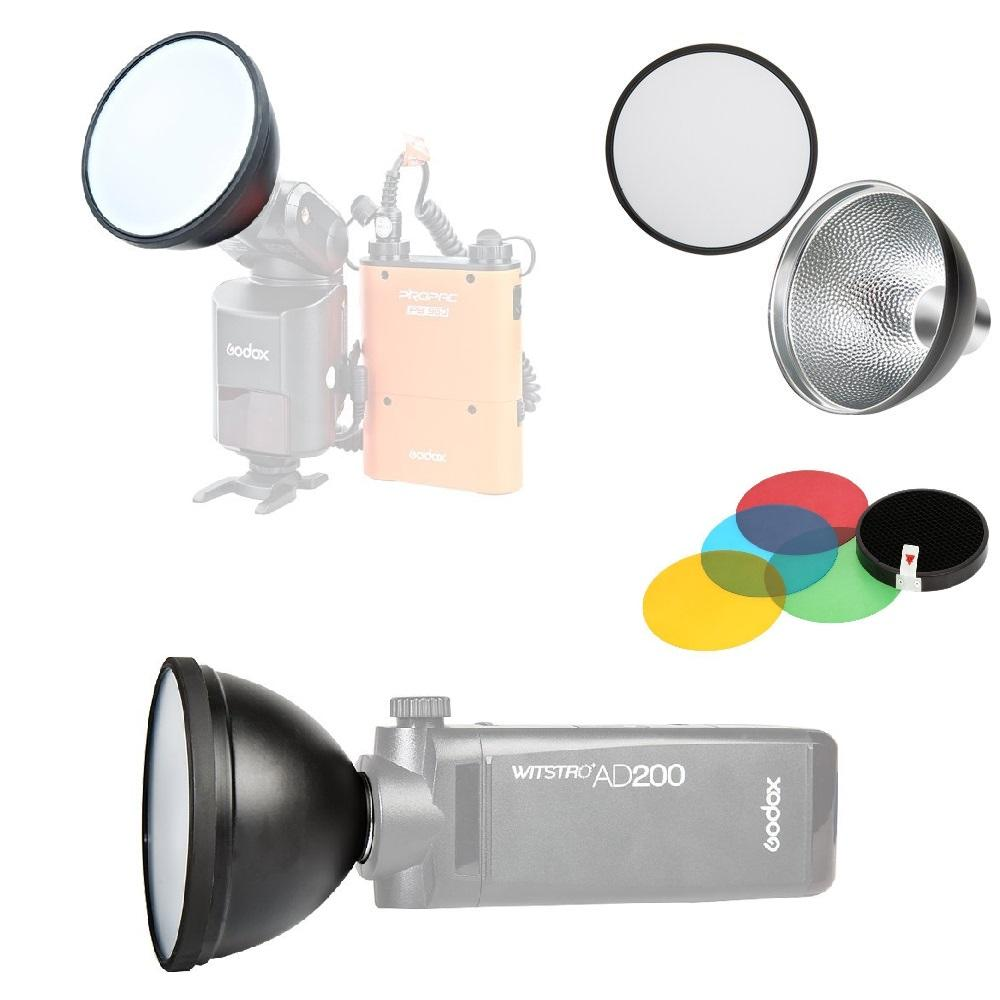 Godox AD-S2 Standard Reflector and AD-S11 Honeycomb grid Cover Reflector Kit