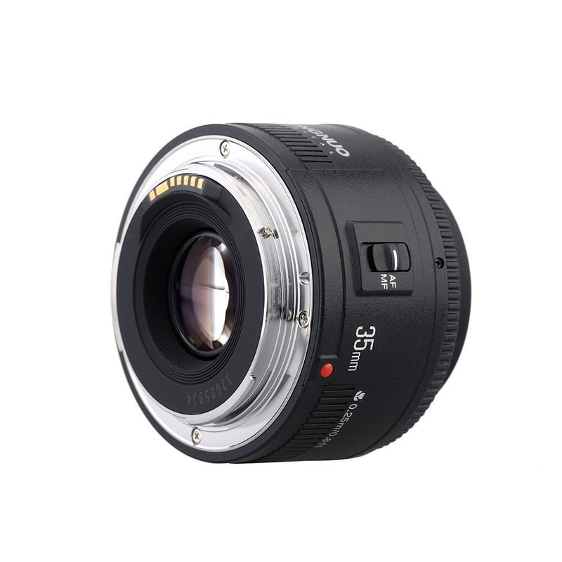YONGNUO YN35mm F2 Lens 1:2 AF / MF Wide-Angle Fixed/Prime Auto Focus Lens For Nikon DSLR Cameras - FOMITO.SHOP