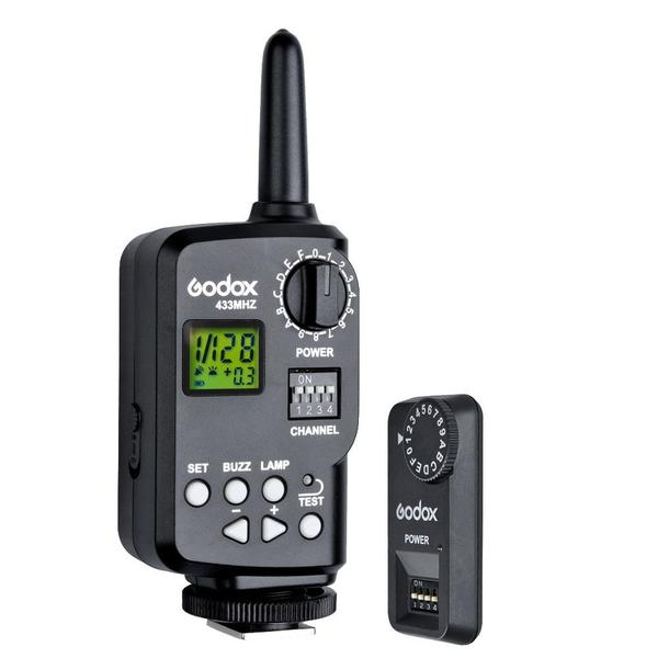Godox FT-16S 16 Channels Wireless Power Control Flash Trigger Set for V860c V860n V850 Speedlite Camera