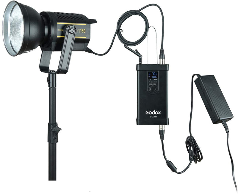 Godox VL300 VL200 VL150 LED Video Light Bowens Mount with U-type bracket Remote Control Controller