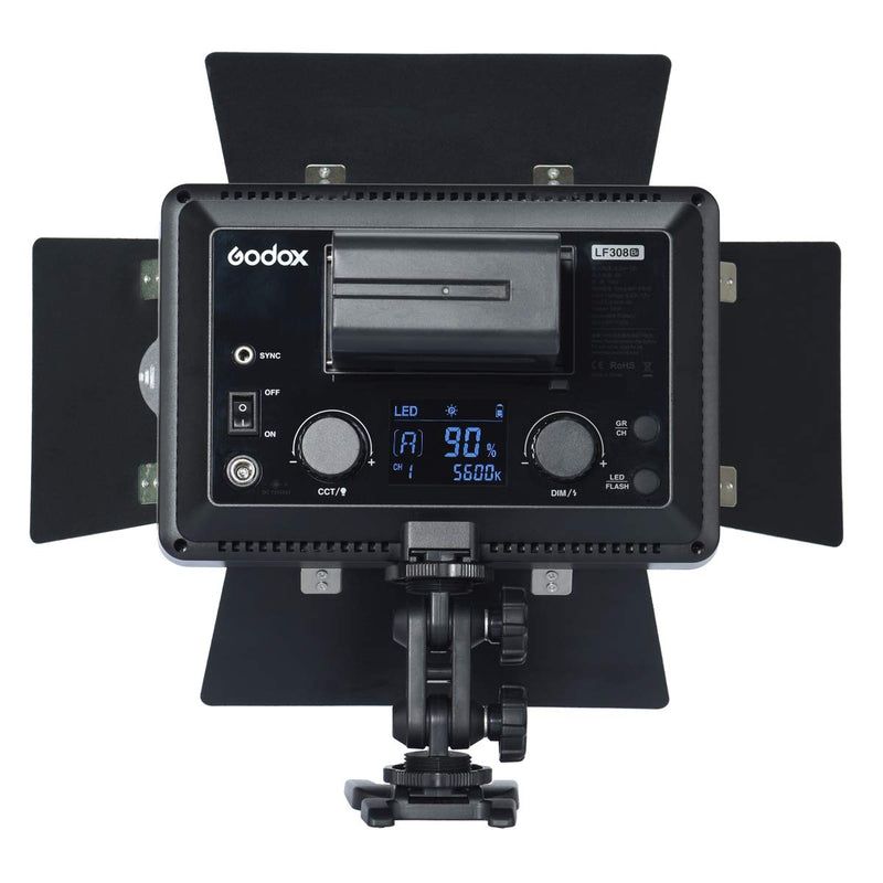 Godox LF308 LED Flash Light Daylight LF308D Bi-Color LF308Bi Built-in Godox 2.4G X System