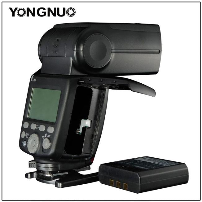 YONGNUO YN686EX-RT ETTL Speedlite Flash 2.4G Wireless HSS 1/8000s Master Flash Speedlite with Lithium battery for Canon