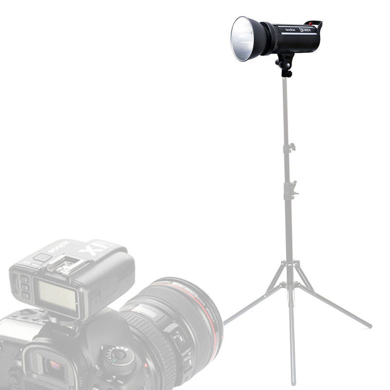 Godox DS300II 300WS Studio Flash Light with 2.4G Wireless X System GN58  for Amateurs , Professional Photographers