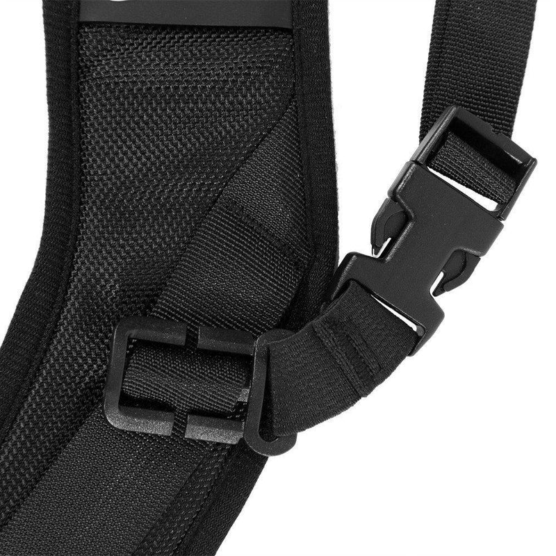 Fomito Quick Rapid Shoulder Sling Belt Neck Strap & 2pcs Screw Mount for Camera DSLR SLR DV Black - FOMITO.SHOP