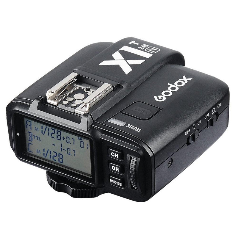 Godox X1T-N 2.4G i-TTL Wireless LCD Flash Transmitter for Nikon Cameras - FOMITO.SHOP