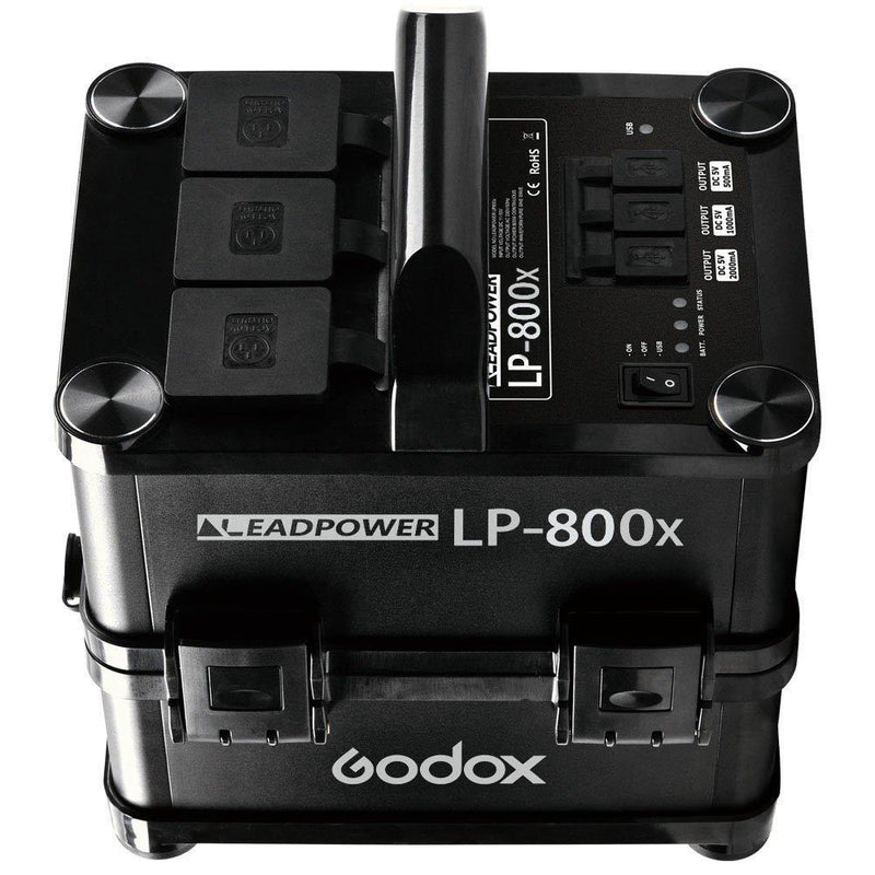 Godox LP-800X Portable Outdoor Output Li-ion Battery Power Inverter 100V-120V - FOMITO.SHOP
