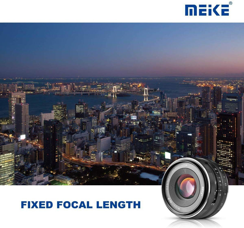 Meike MK-50mm F2.0 Standard-focal Lens Large Aperture Manual Focus Fixed Lens for Nikon