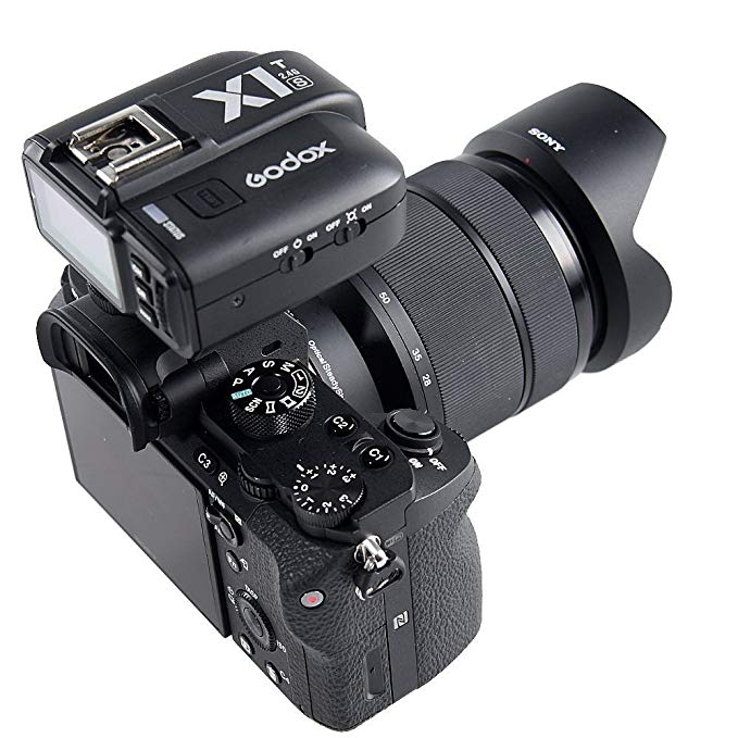 Godox TT685S TTL 2.4GHz Wireless Master /External AutoFlash Speedlite & X1T-S Transmitter Trigger