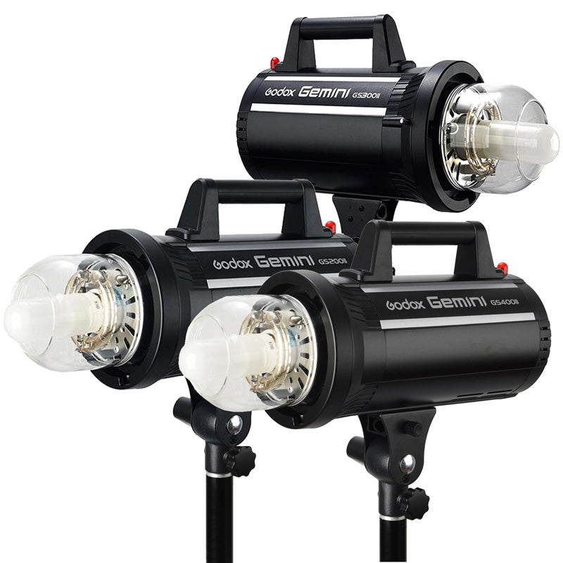 Godox GS200II 200WS studio Flash Light GN49 with 2.4G X System Offers Creative Shooting for Professional Studio