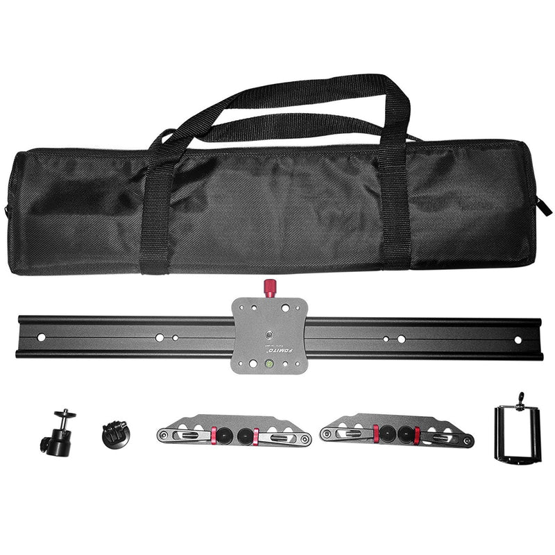 "Fomito Upgraded Camera Video Slider Track Dolly Stabilization System (60cm / 24"") - FOMITO.SHOP"