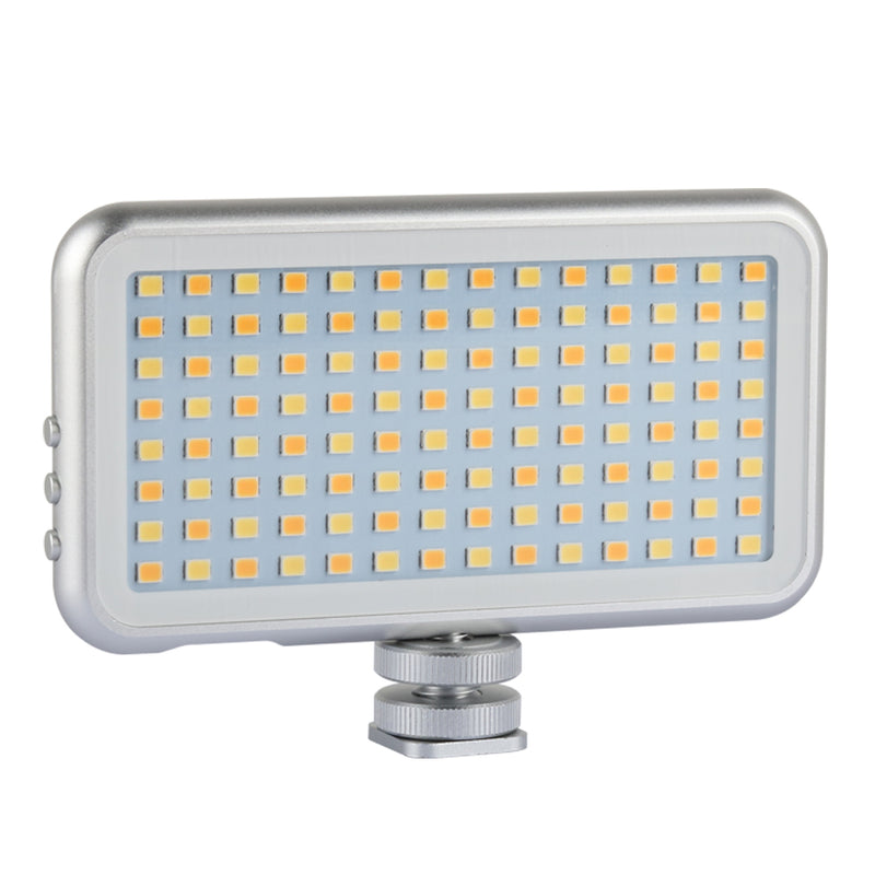 Fomito LED112 Built-in Battery LED Light Panel Dimmable Portable Fill Light with USB cable