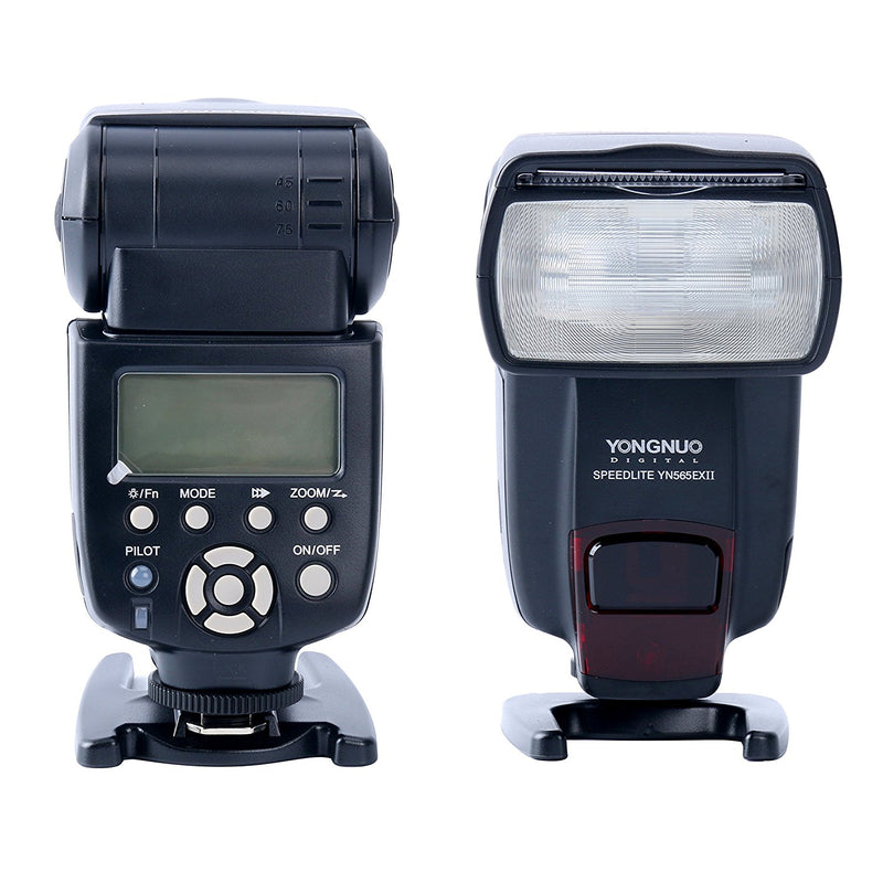 YONGNUO YN565EX II E-TTL Camera Flash Speedlite for Canon DSLR Cameras - FOMITO.SHOP