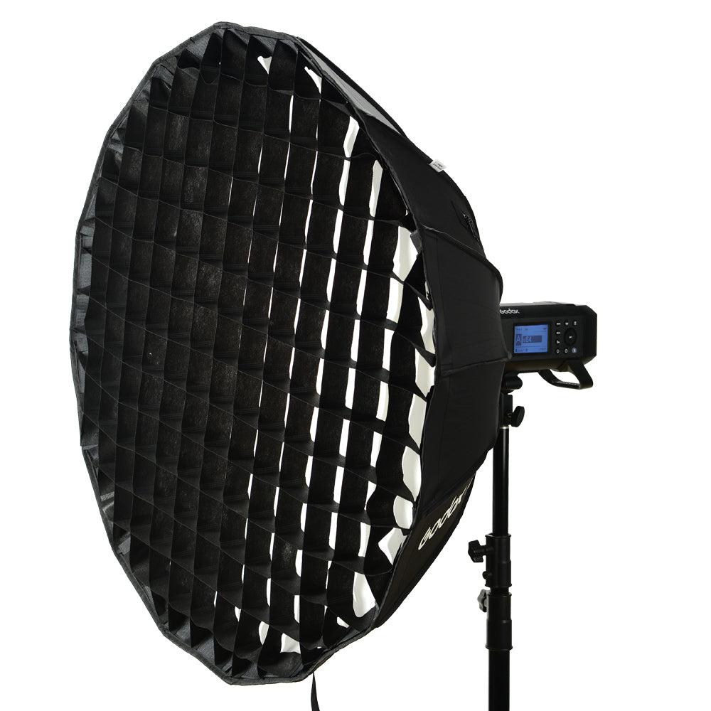 Godox Deep Parabolic Softbox AD-S85S 85cm with Haoneycomb Grid for Godox AD400Pro AD300Pro Flash