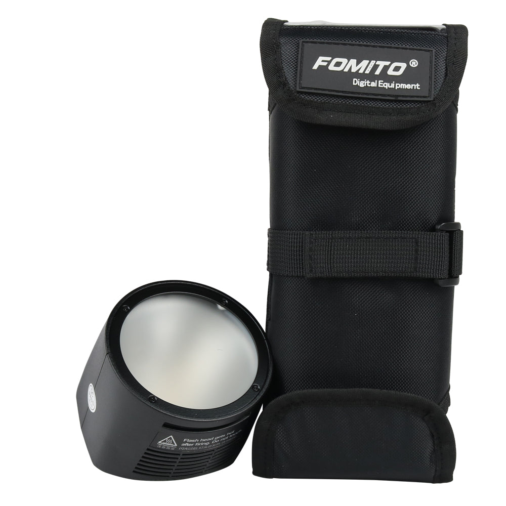 H200R Round head +BS200 Portable pouch for Godox AD200 Pocket flash