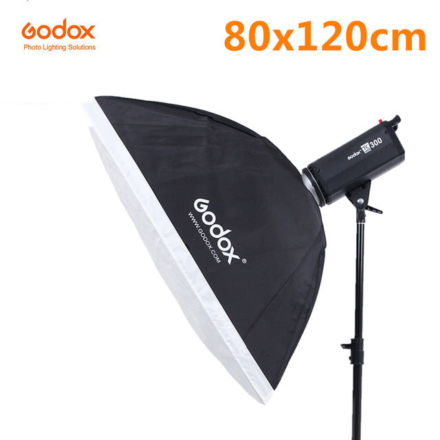 Godox SB-BW Softbox with Bowens Mount White Diffuser Portable Square Reflector for Flash