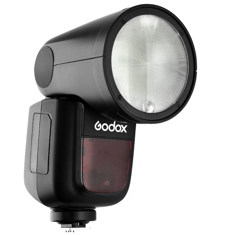 Godox V1 O TTL On-Camera Round Flash Speedlight for Panasonic & Olympus