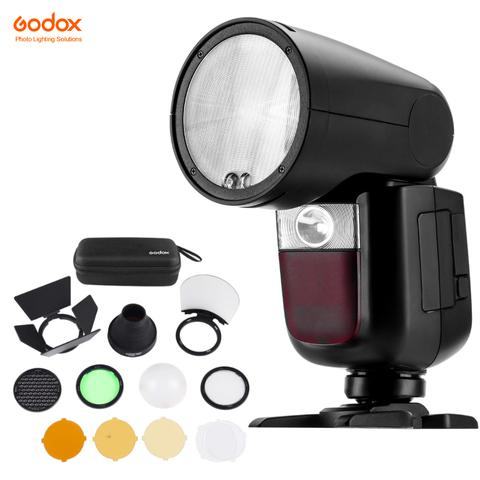Godox V1 Pentax TTL On-Camera Round Flash Speedlight for Pentax