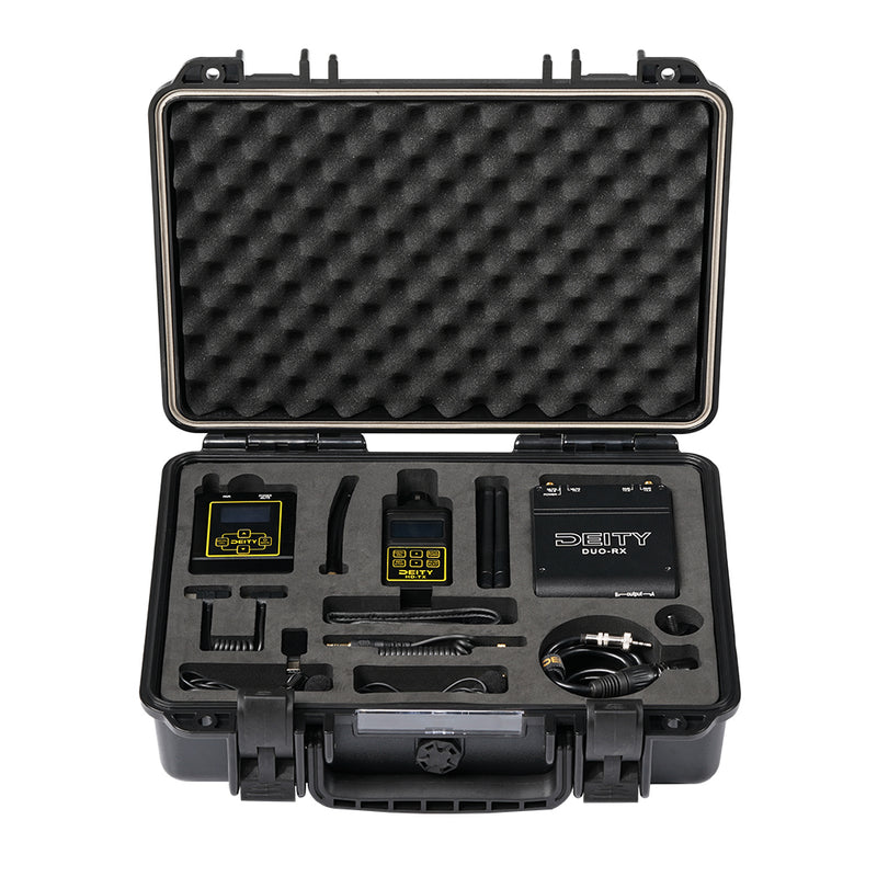Deity HD-TX Recorder Kit Microphone Live Audio Monitoring Low Inherent Self-Noise with Holster