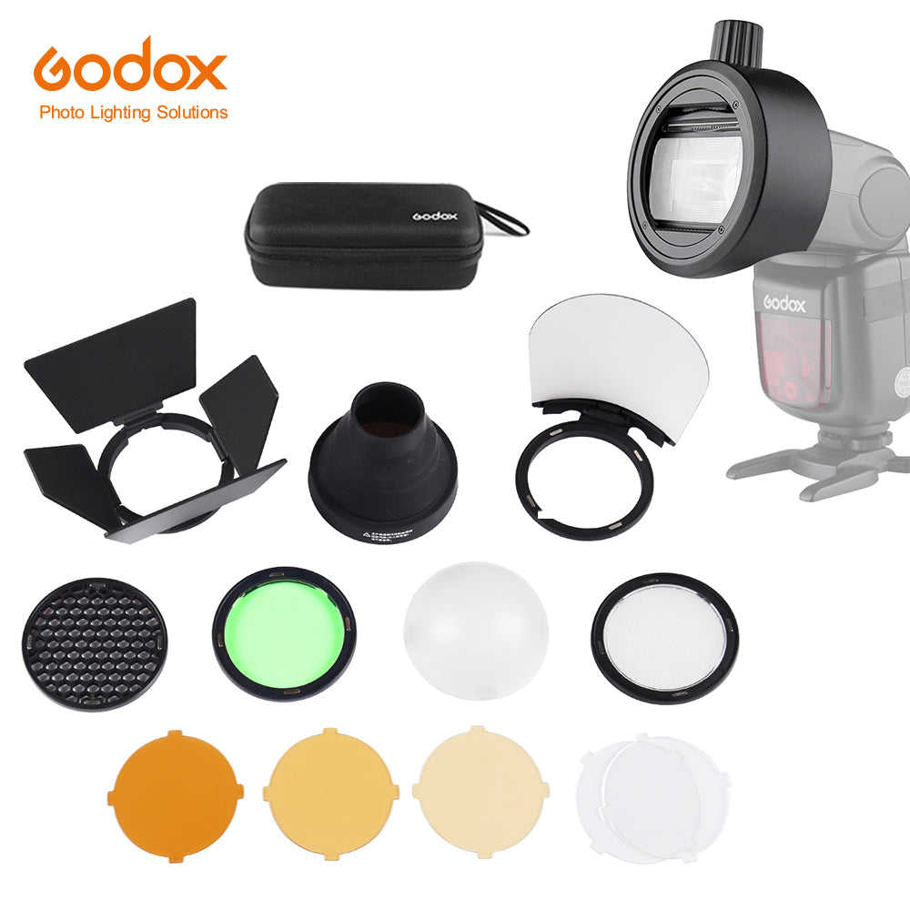 In stock!Godox Round Head Accessories Adapter S-R1 Suit for V860II V850II TT685 TT600 Series +AK-R1 Accessories kit
