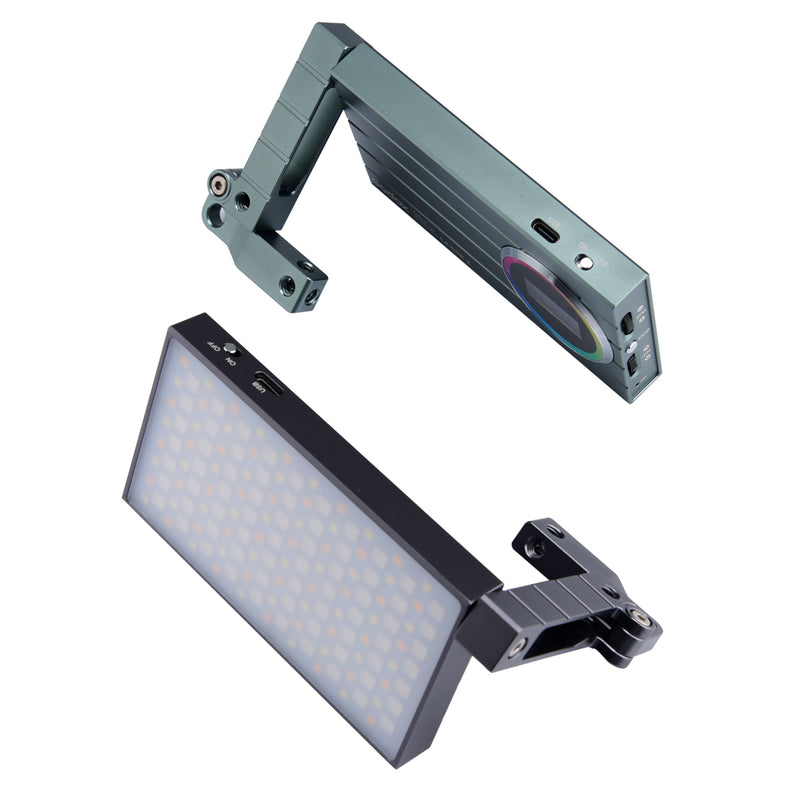 Godox M1 RGB Mini Creative Video Light Built-in Lithium Battery Articulating Bracket Music Mode