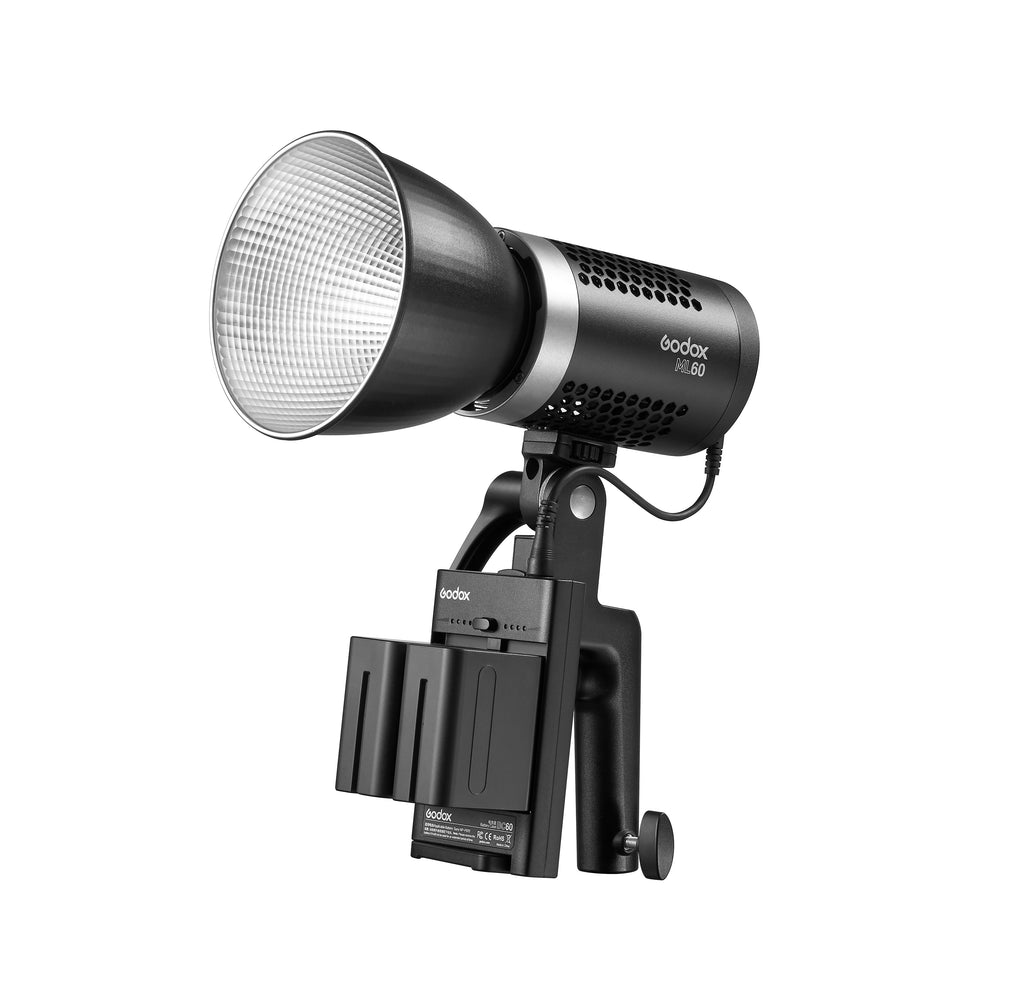 Godox ML-60 LED Light Potent And Portable Daylight-balanced Video Light Silent Mode ML60