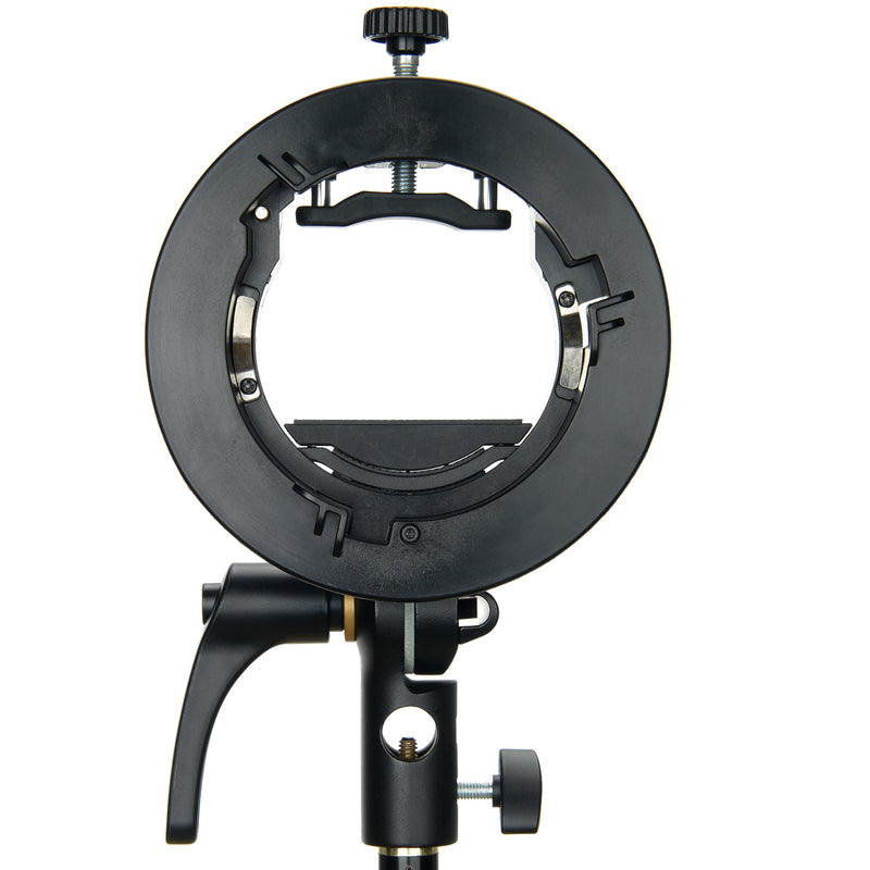 Godox S2 Type Bowens Mount Speedlight Bracket for V1 TT860II TT685 TT350 AD400Pro AD200Pro