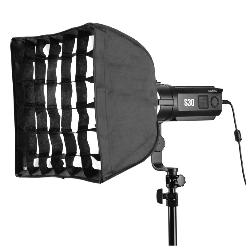 Godox SA-30 Softbox with Grid 30*30cm for Godox S30 LED Light
