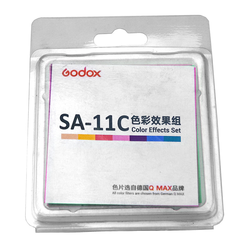 Godox SA-11C Color Filters of Color Effects Set for Godox S30 LED Light