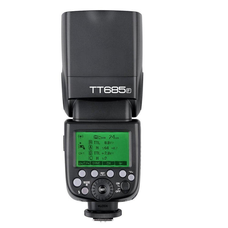 Godox TT685F GN60 1/8000S HSS 2.4G TTL Flash Speedlite for Fuji Cameras - FOMITO.SHOP