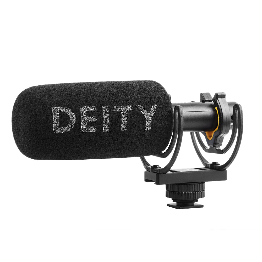 Deity V-mic D3 Super-Cardioid Microphone 50HZ ~ 20KHZ Superior Off-axis sound performance