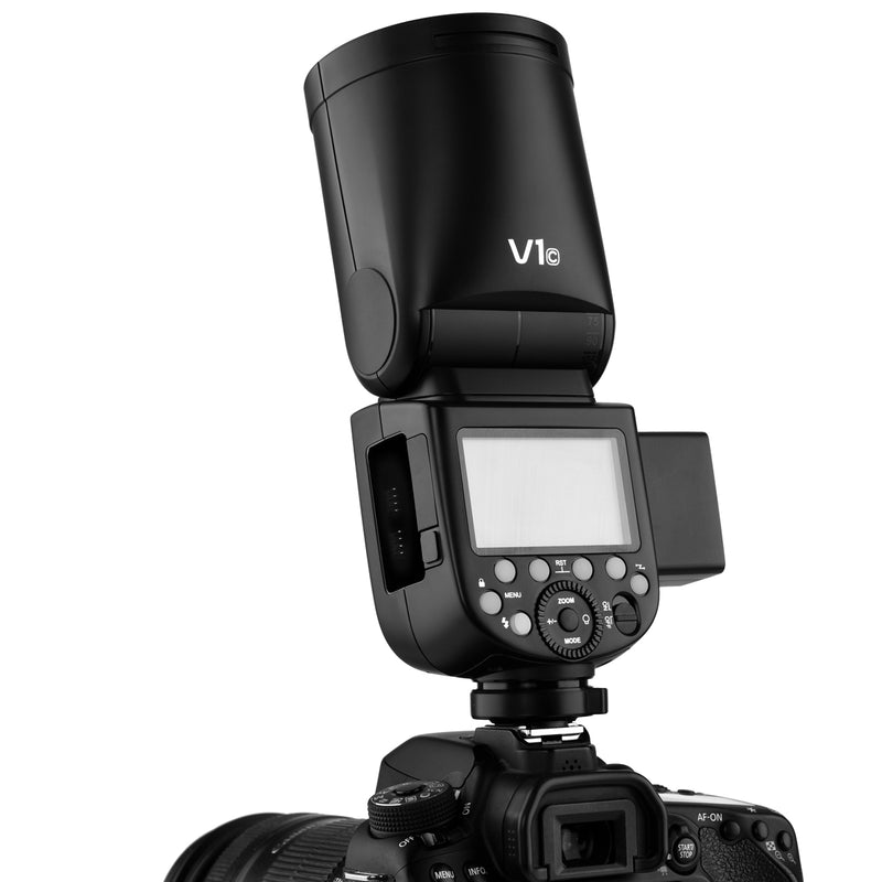 In Stock!Godox V1 Canon TTL On-Camera Round Flash Speedlight for Canon