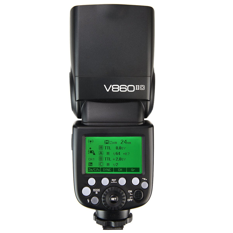 Godox V860IIO 2.4G GN60 TTL HSS 1/8000s Li-on Battery Camera Flash - FOMITO.SHOP