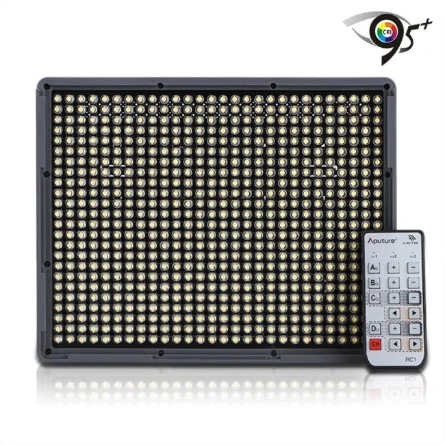 Aputure HR 672S 672W 672C Amaran Slient LED Video Light Ultra-thin 100m Wireless Groups Control