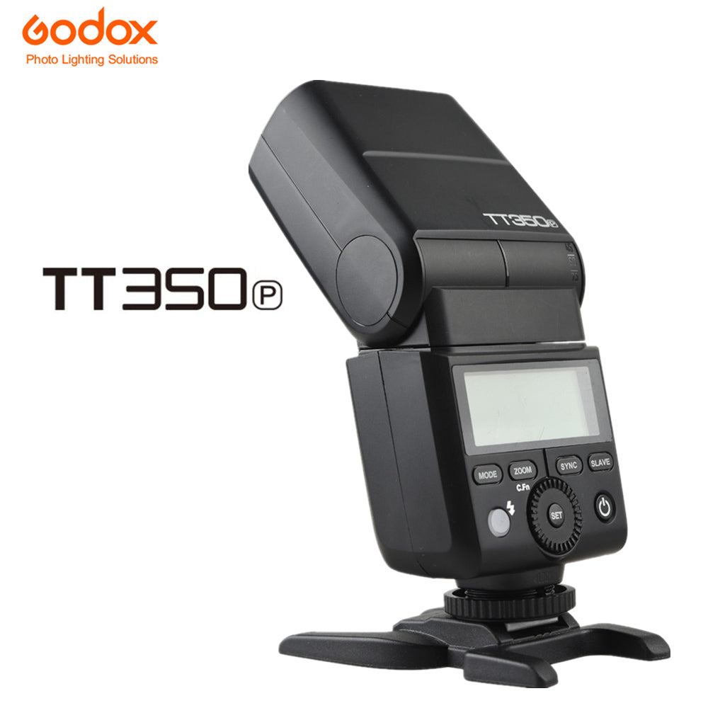 GODOX Mini TT350P TT350 TTL HSS 2.4GHz Wireless Flash for Pentax 645Z K-3II K-1 KP K-50 K-S2 K70 Camera