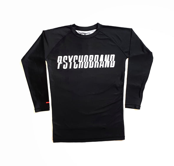 Psychobrand Rashguards - Patience (Black)