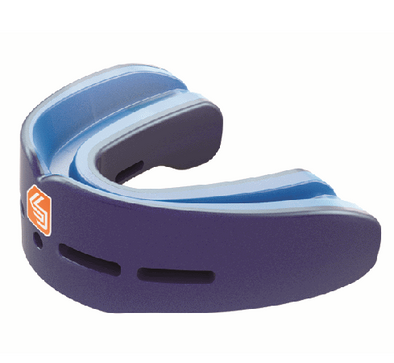 "Shock Doctor Mouthguard ""Nano Double"" - Pearl Blue"