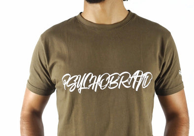 Psychobrand Basic T-Shirt (Olive Green)