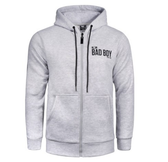 "Bad Boy Hoodie ""Crossover"" - Gray"