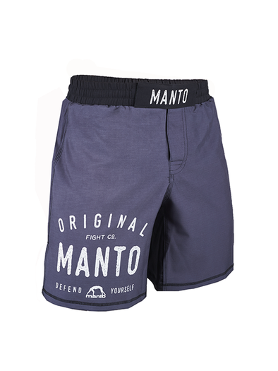 MANTO fight shorts OLDSCHOOL gray