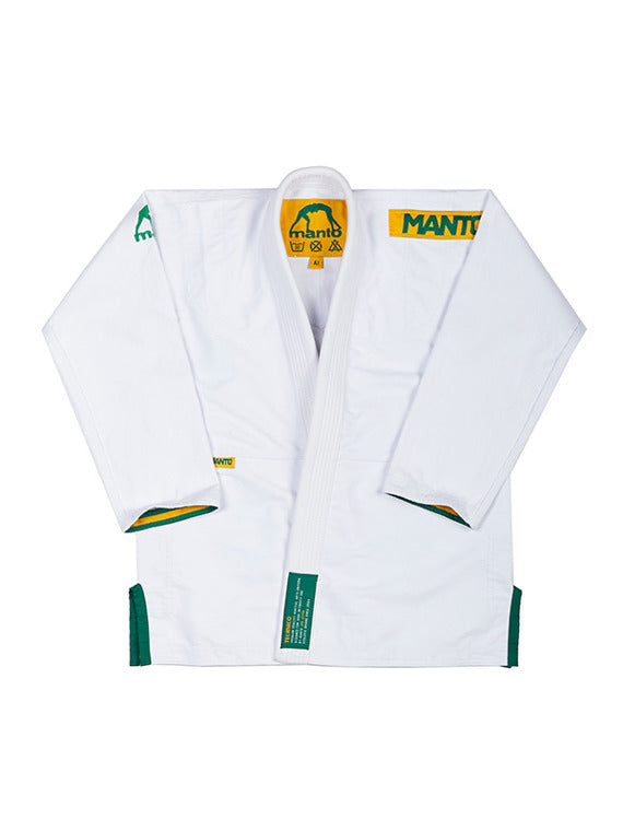 "Manto ""TECHNICO"" BJJ GI white"