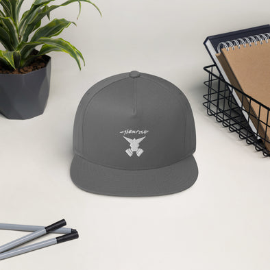 Cyberfight Clothing Flat Bill Cap