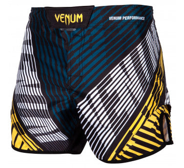 VENUM PLASMA FIGHTSHORTS - BLACK/YELLOW