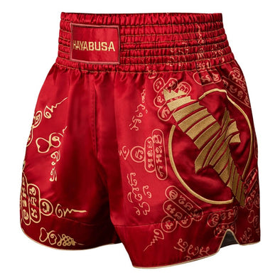 Hayabusa Falcon Muay Thai Shorts - Red