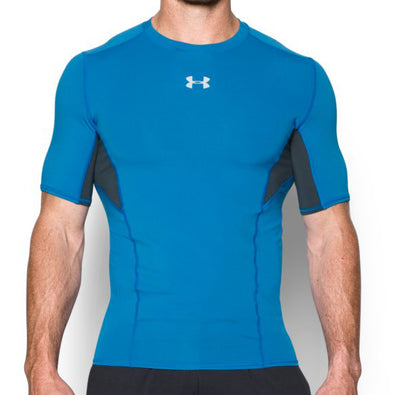 "Under Armour Compression Shirt ""Cool Switch"" - Blue - Shortsleeve"
