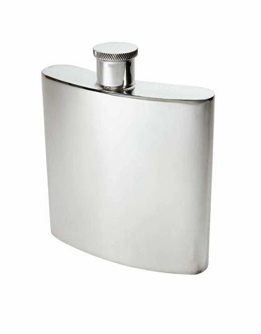 26Oz Giant Premier Pewter Hip Flask Hip Flask 26Oz Anniversary Badge-New Best-Man Birthday Buyahipflask.com