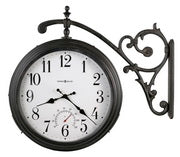 Howard Miller Indoor-Outdoor Double Sided Quartz Wall clock