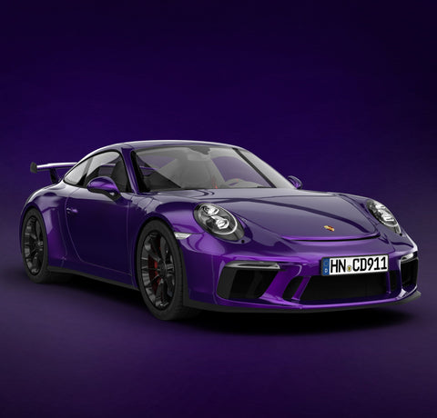 AUTO SPRÜHFOLIE <br> PURPLE LILA METALLIC KIT