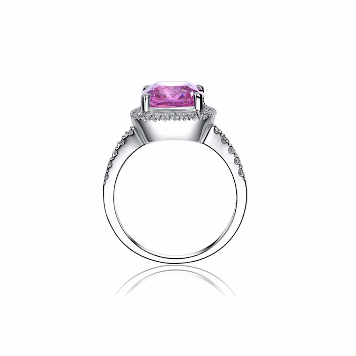 Bague Rachelle Diamant Rose